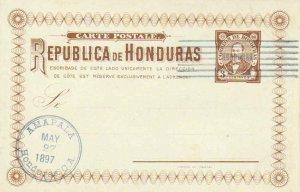 Honduras Higgins & Gage 26 Used.