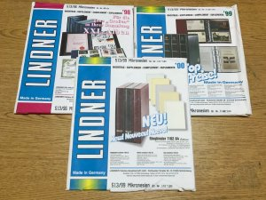 1998-2000 Micronesia Linder Hingeless Stamp Album Supplements Pages
