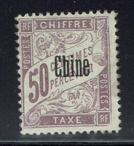France Offices China SC# J6 - Mint Never Hinged - Lot 032016