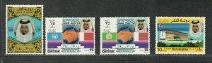 Qatar Sc#317-320 M/NH/VF, Cv. $27