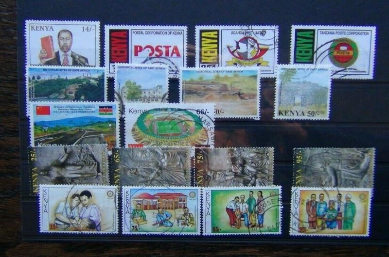 Kenya 1998 2005 President Diplomatic Easter Rotary Sites Post etc Used