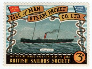 (I.B) Cinderella Collection : Isle of Man Steam Packet 3d (Mona II)