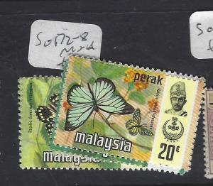 MALAYA PERAK  (P0509B)  BUTTERFLY  SG 122-8   MNH