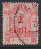 North Borneo  SG 63 Used OPT  please see scans & details