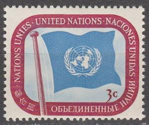 United Nations  #4  MNH (S816)