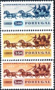 Portugal #906-908  MNH