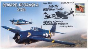2016, Seward Nebraska, 4th of July, Aviation, Planes, 16-276