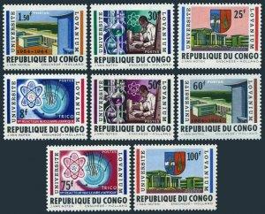 Congo DR 472-479,479a,MNH.Michel 155-162,Bl.3. Lovanium University,10,1964.