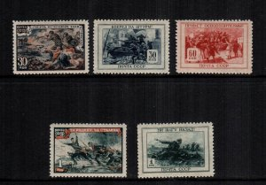 Russia  974 - 979  mint hinged cat $ 16.00