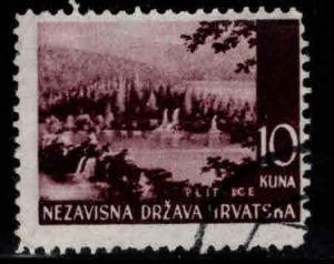 Croatia Scott 43 Used stamp