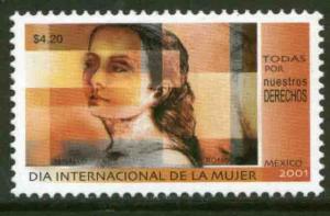 MEXICO 2224, International Womens Day. MINT, NH. F-VF.