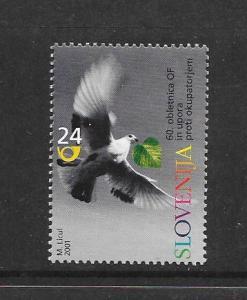 BIRDS - SLOVENIA #457  MNH
