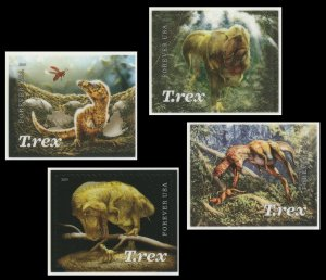 US 5410-5413 T.Rex Tyrannosaurus forever set (4 single stamps) MNH 2019