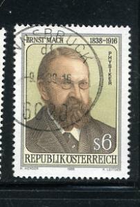 Austria 1419 Ernst Mach Issue USED