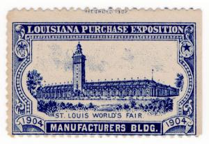 (I.B) US Cinderella : Louisiana Purchase Exposition (Manufacturer's Building)