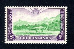 Cook Islands, Scott 135, F/VF, Unused, Original Gum, CV $5.00   ..... 1500089