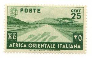 Italian East Africa, Scott #7, Unused, Hinged