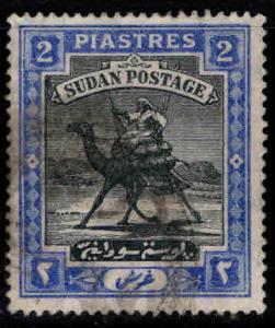 SUDAN Scott 24 Used Camel mail stamp