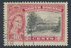 North Borneo SG 387 SC# 276  Railway   Used see details