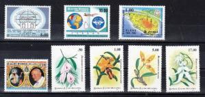 Sri Lanka Scott 1104 // 1126 Mint NH - 5 complete sets (Catalog Value $20.75)