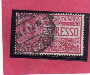 ITALIA REGNO ITALY KINGDOM 1903 ESPRESSI EFFIGIE RE VITTORIO EMANUELE ESPRESS...