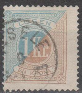 Sweden #J22 Fine Used CV $17.50 (C738)