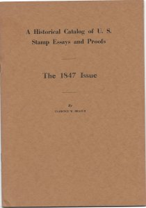 Doyle's_Stamps: A Historical Catalog of U.S. Stamp Essays, Proofs 1847 Issue