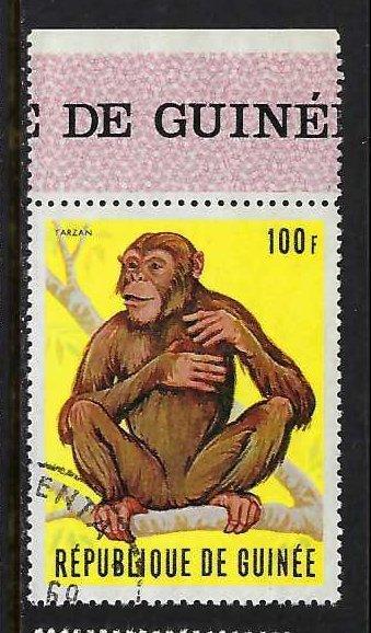 GUINEA 534 VFU FAUNA Z1895-2