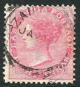 Zanzibar SGZ42 8a Rose Z4 Squared Circle dated 1st Jan