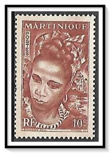 Martinique #217 Girl MNH