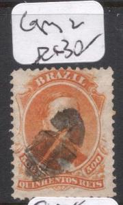 Brazil SC 60 Cork Cancel Copy Two VFU (5diy)