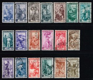 Italy # 549 - 567 Used