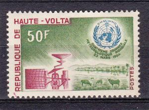 Burkina Faso (Upper Volta) 130 MNH 1964 Meteorological Day