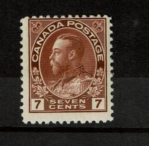 Canada SC# 114, Mint Hinged, Light Hinge Remnant - S2669