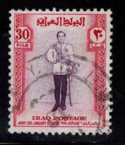 IRAQ Scott 184 used top value of 1958 set