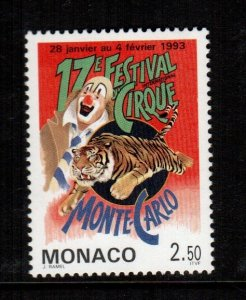 Monaco  1842  MNH  cat $ 1.50