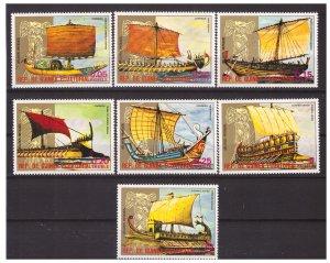 Equatorial Guinea MNH 7801-7 Ancient Sailing Ships