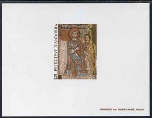 Andorra - French 1985 Pre-Romanesque Art 5f Epreuves de l...