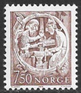 NORWAY 1976 Sigurd the Dragon Slayer Folk Tale Issue Sc 669 MNH