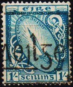 Ireland. 1940 1s S.G.82 Fine Used