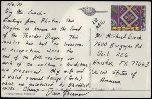 Bhutan, Picture Postcards