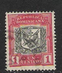 DOMINICAN REP. DOMINICANA 125 VFU ARMS 781G