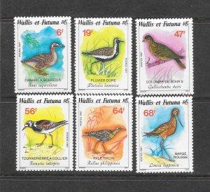 BIRDS - WALLIS & FUTUNA  #363-8   MNH
