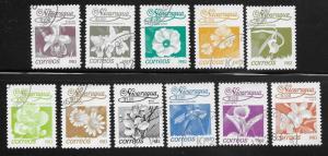 Nicaragua Scott 1209-1224  Used  Short Set