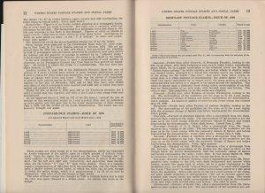 US 1927 A Description of US Postage Stamps & Postal Cards Book