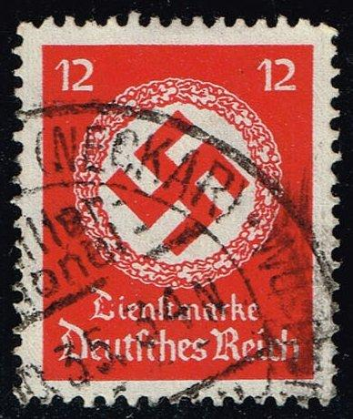 Germany #O86 Official - Swastika; Used (1.50)