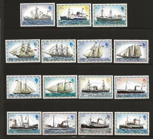 FALKLAND ISLANDS SC# 260-74  FVF/MNH