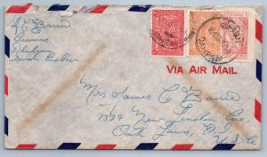 GOLDPATH: Saudi Arabia cover,  1953, To Oak Town NJ USA, CBHW_07_02