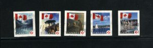 Canada #2189-93   -2  used VF 2006 PD