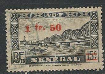 French West Africa + Scott # 8 - Used